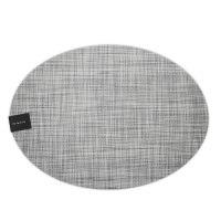 Салфетка Chilewich MINI BASKETWEAVE подстановочная овальная материал винил 36x49 Mist 100130-034