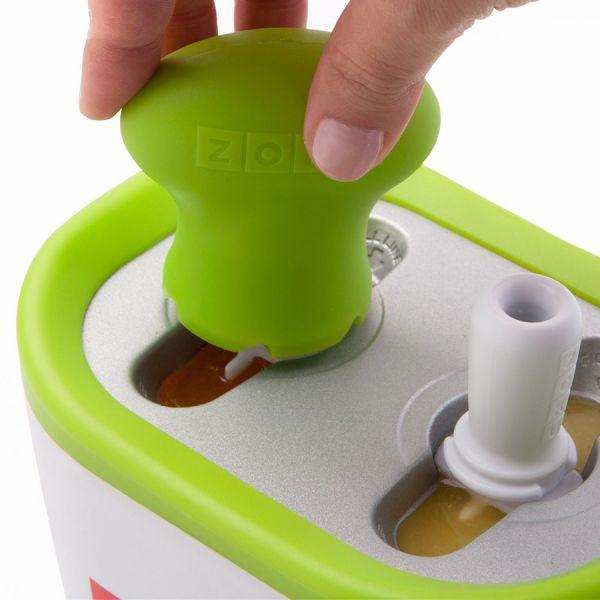 Набор для приготовления мороженого Duo Quick Pop Maker синий ZK107-BL