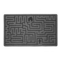Коврик придверный Labyrinth серый 26780 Balvi