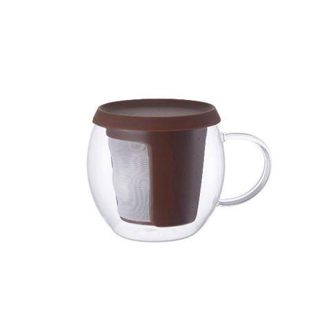 Кружка-чайник Kinto 350 мл цвет коричневый 22779
