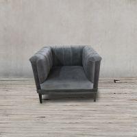 Кресло Арам ROOMERS, S0280-1D/AR108-34#grey