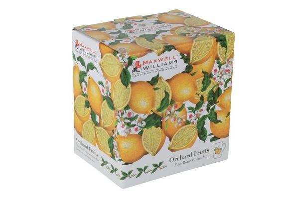 Чашка с блюдцем Лимон в подарочной упаковке, MW637-PB8108