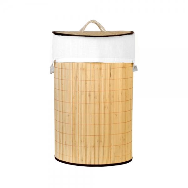 Корзина для хранения бамбук 34*45 см 40 л