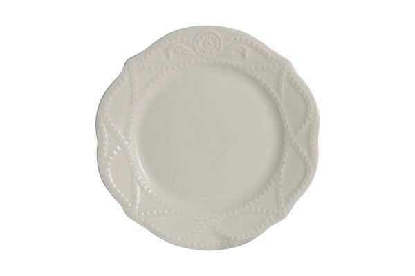 Тарелка закусочная Villa (кремовая) без индивидуальной упаковки, MC-F53830097800000