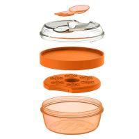 Ланч-бокс с охлаждающим элементом N'ice Cup™ оранжевый 104407 Carl Oscar