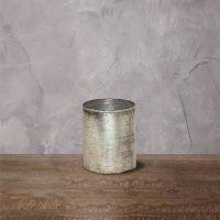 Подсвечник ROOMERS 15x10x10 см цвет серебряный ожог Ksa/5476
