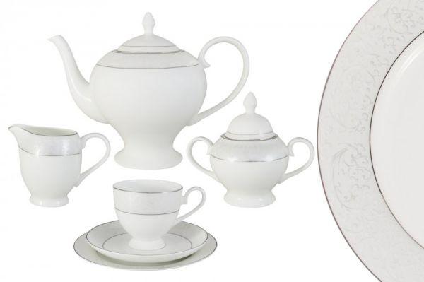 Чайный сервиз Мелисента 21 предмет на 6 персон, AL-14-310_21-E5