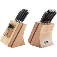 Набор кухонных ножей NADOBA DANA 5 шт и блока для ножей с ножеточкой 722515