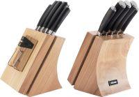 Набор из 5 кухонных ножей и блока для ножей с ножеточкой, NADOBA, серия DANA 722515