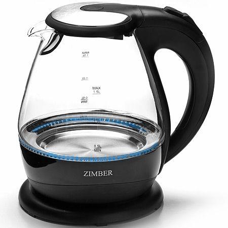 Электрический чайник 1,5л 2200Вт с подсветкой ZIMBER, 11183