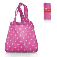 Сумка складная mini maxi shopper magenta dots AT3059