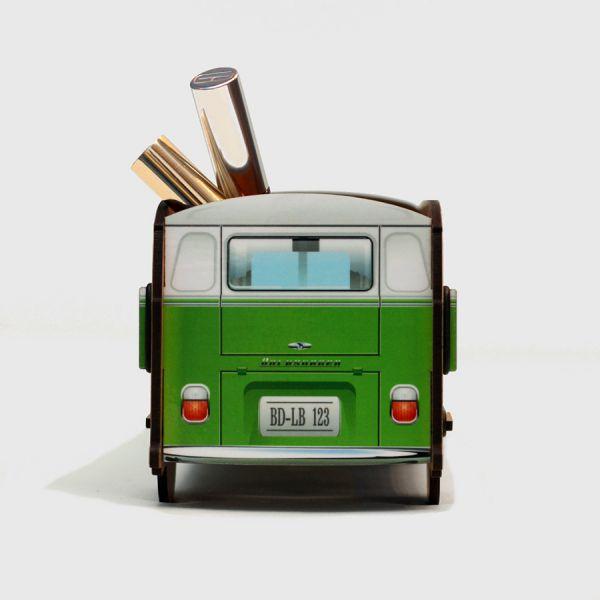 Настольный органайзер VW T1 Camper - зеленый