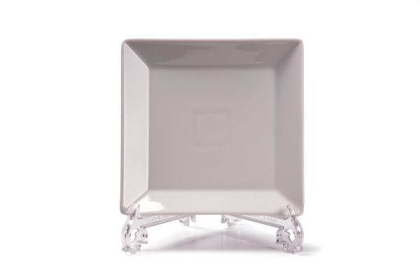 Тарелка квадратная 20 см, Tunisie Porcelaine, серия SENATEUR