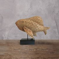 Декор ROOMERS «Рыба» 38x50x20 см цвет коричневый FA-1768
