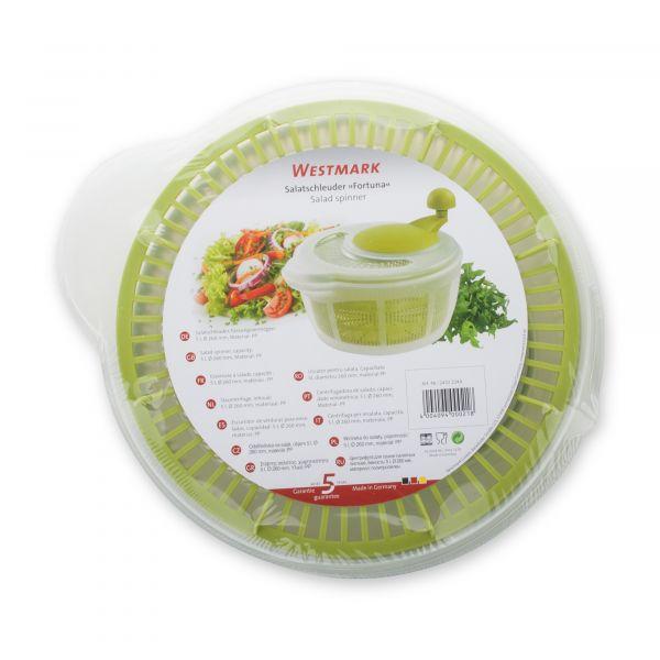 Сушка Westmark для салатных листьев, пластик, цвет зеленый Plastic tools, 2432224A