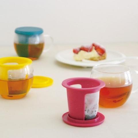 Кружка-чайник Kinto 350 мл цвет красный 22776