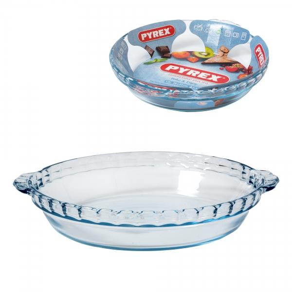 Блюдо для пирога Pyrex с ручками 23 см 1,3 л 198B000/7048