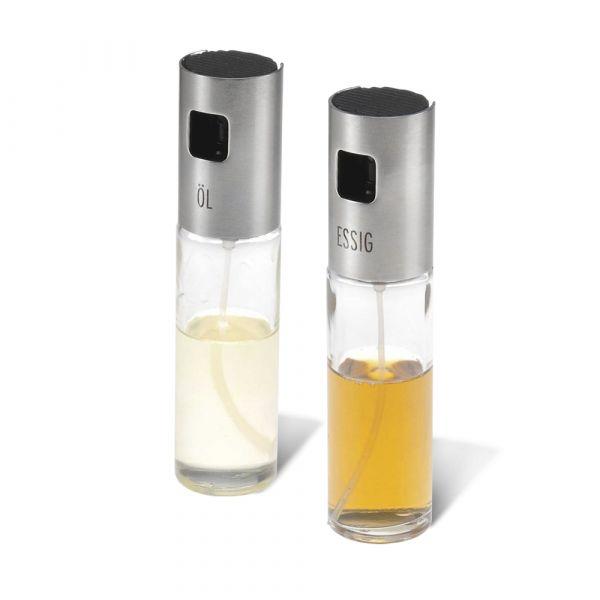 Набор емкостей с дозатором-спреем для масла и уксуса, 2 шт, серия Steel, Westmark