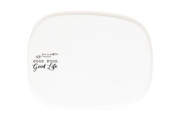 Тарелка закусочная Kitchen Elements без индивидуальной упаковки, EL-R1902_KITE