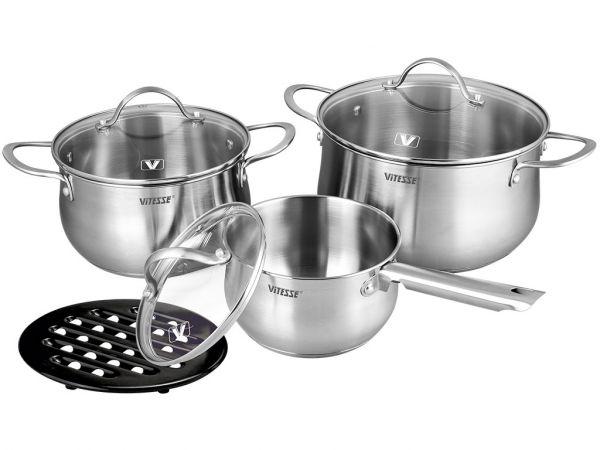 Набор посуды Vitesse Melanie 7 предметов VS-2062