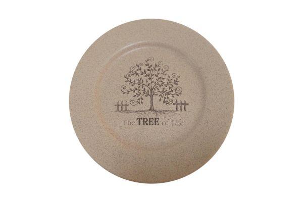Закусочная тарелка Terracotta «Дерево жизни» TLY802-2-TL-AL