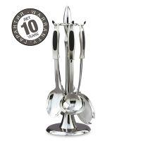Набор кухонных принадлежностей ARCOS Kitchen utensils 5 предметов на подставка 4116
