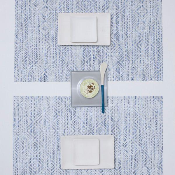 Салфетка Chilewich MOSAIC подстановочная материал винил 36x48 см Blue 100435-001