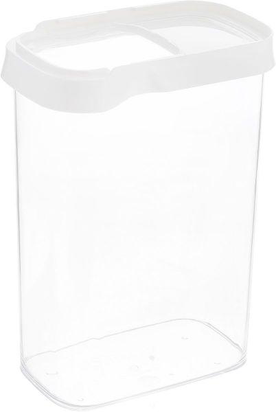 Контейнер OPTIMA для сыпучих продуктов прямоугольный 2,2 л EMSA со сдвигающейся крышкой