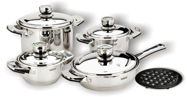 Набор посуды из 9 предметов (Denise) Vitesse VS-1000