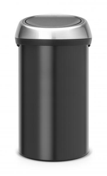 Мусорный бак Brabantia TOUCH BIN 60 л высота 70,4 см, диаметр 40,0 см 402548