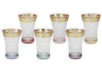 Набор: 6 стаканов для воды Цветная Флоренция, SM3176_678-AL