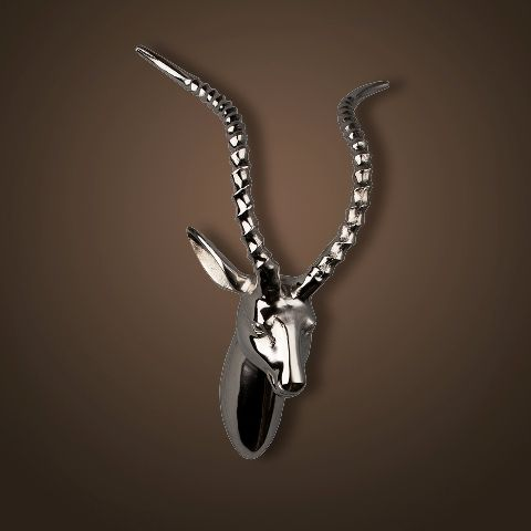 Декор ROOMERS «Голова антилопы» 38x19x12 см 4419