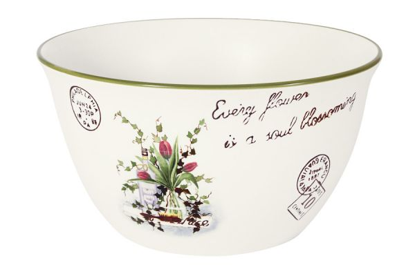 Салатник Anna Lafarg LF Ceramics «Букет» большой AL-320F6301-B-LF