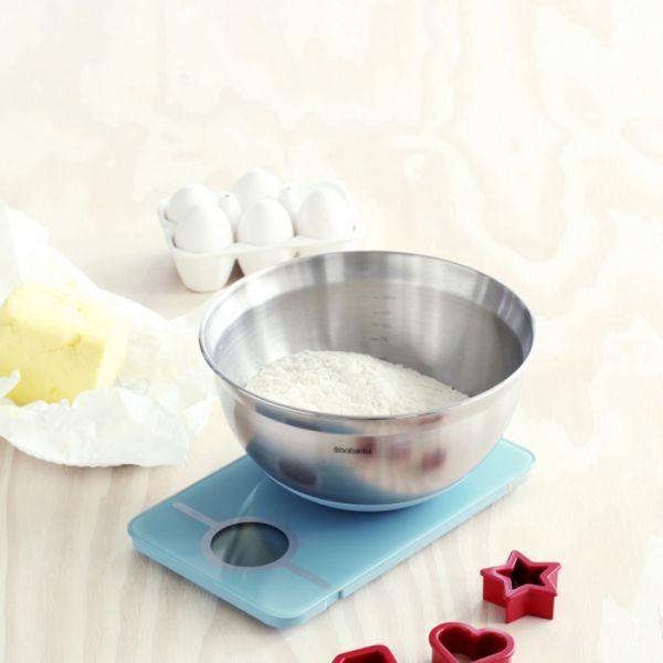 Набор кухонные весы + салатник BRABANTIA, 104725