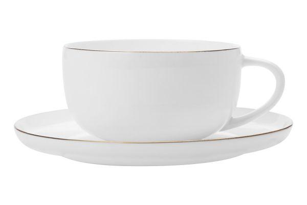 Чашка с блюдцем Кашемир Голд без индивидуальной упаковки, MW583-EF0116