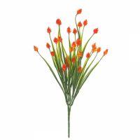 """Декоративный букет """"Снежноягодник"""", 35 см, оранжевый"""