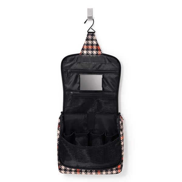 Сумка-органайзер toiletbag glencheck red WH3068