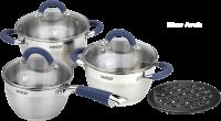 Наборы посуды из 7 предметов (серия Blue Arch) Vitesse VS-2046