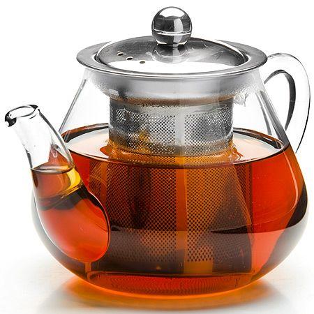 Заварочный чайник Mayer&Boch из стекла 600 мл с ситом 26201