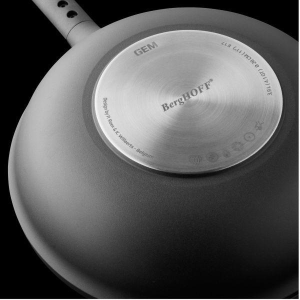 Сковорода-вок BergHOFF Gem глубокая 24 см 2307313