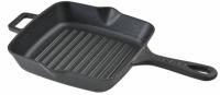 Литая чугунная сковорода-гриль LAVA 20*20 см, LVECOPGT2020K0