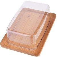 Сырница с крышкой из бамбука 19,5 см  Mayer&Boch, 28336