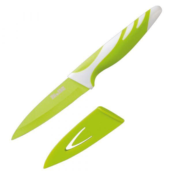 Нож кухонный IBILI Easycook 8,5 см цвет зеленый блистер 727608
