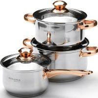 Набор посуды, 6 предметов, нержавеющая сталь Mayer&Boch, 25666