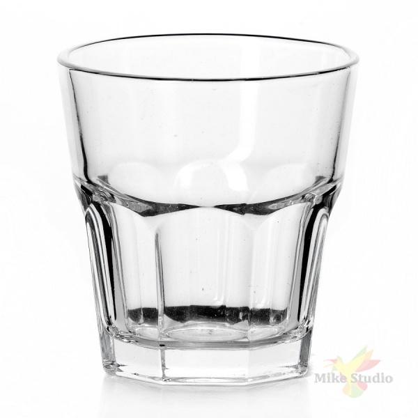Набор стаканов из закаленного стекла КАСАБЛАНКА, 6 штук, объем 205 мл, высота 85 мм