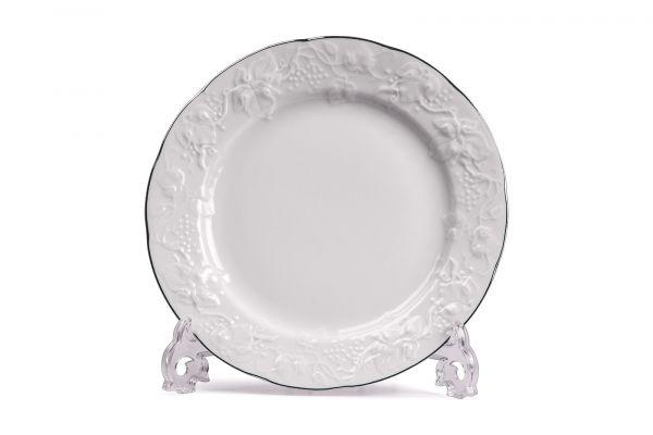 Тарелка обеденная 26 см, La Rose des Sables, серия VENDANGE Filet Platine, 690126 0019
