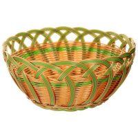 Корзинка плетеная Oriental Way «Мульти» 24x8 см MJ-PP020BRGR