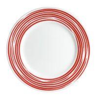 Тарелка закусочная 22см Brushed Red CORELLE 1118421