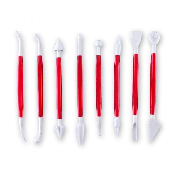 Набор для декорирования марципанов Westmark Silicone 8 шт цвет красный 30362280