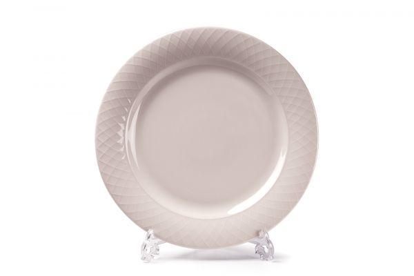 Тарелка обеденная 22 см, Tunisie Porcelaine, серия GRAND SIECLE